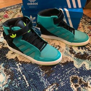New, Never worn. Adidas, High Tops